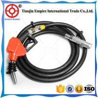 Industrial standard 2 1/4 inch anti-aging fiber braided  gas station rubber hose Manufactures