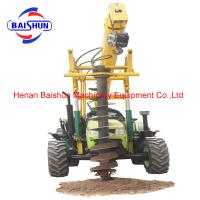 Best selling Of Pit Hydraulic Digging Electric Pole Machine Manufactures