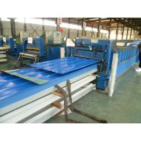 China Galvanized Corrugated Color Steel Sheet With Waterproof , Fire Insulation on sale