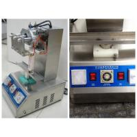 Buy cheap Semi Auto Tube Filling Sealing Machine With Touch Screen , Cosmetic Tube Sealer from wholesalers