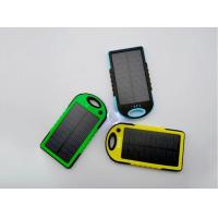 5000mah solar mobile phone charger portable solar charger waterproof solar charger for mobile phone Manufactures