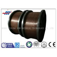 Clear Surface Copper Coated Steel Wire 0.78-1.65 Gauge For Tractor / Truks Manufactures