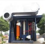 Medium Frequency Hydraulic Steel shell furnace KGPS-4500KW/6000kg