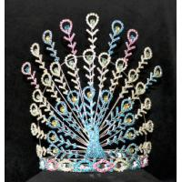peacock pageant crowns for valentines day pageant crowns and rhinestone crowns tiaras wholesale crowns supplier china Manufactures