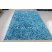 China Plain Color Polyester Malai Dori Shag Rugs, Sky Blue Shaggy Pile Rug For Kitchen, Floor, Outdoor on sale