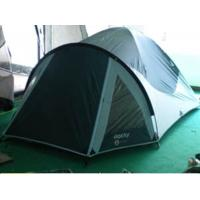 Professional 3 person Dome Camping tent Polyester sun shelter tent , Blue Manufactures