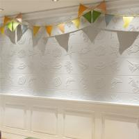 Peel And Stick Decorative Wall Panels Board With Glue ECO Friendly Manufactures