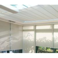 Anti - sunshade UV proof double layer roller blinds with curtain tubular motor Manufactures