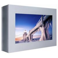 "75"" outdoor all weather proof LCD display VESA mount rugged digital signage with cooling fan built in airconditioner Manufactures"