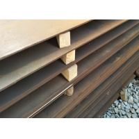 SS400 ASTM A36 A572 ST37 ST52 Mild Steel Plate / Low Alloy Steel Plate Manufactures