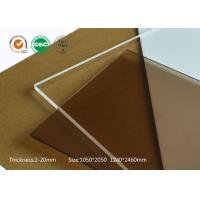 Aluminium profile modular assembly using scratch resistance acrylic sheets 10mm clear plastic sheet Manufactures