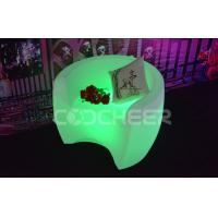 Rechargeable RGB Glowing Fashionable Led Pub Chairs / stool furniture Manufactures