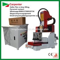 cutting machine for marble KC4040R mini jewelry cnc router for cutting and engraving wooden glasses Manufactures