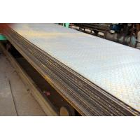 China SS400, Q235B, S235JR Hot Rolled Steel Coils / Checkered Steel Plate, 2000mm -12000mm Long on sale
