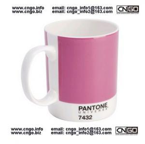 GIFTS MUG PANTONE colors mug to your LOVER mugs NO.7432MUG CERAMIC Manufactures