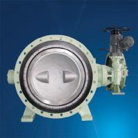 small worm gear operated iso 5752 double flanged butterfly valve Manufactures