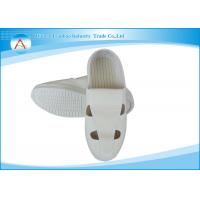 Canvas Or Leather Four Holes Operating Room Footwear / Anti static Footwear Nurse Medical Use Manufactures