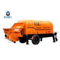 Stationary Mounted Electric Concrete Pump Trailer Large Capacity 80 M3 / H Manufactures