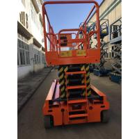 Self Propelled Hydraulic Scissor Lift 13.7m Hydraulic Drive For Aerial Working Manufactures