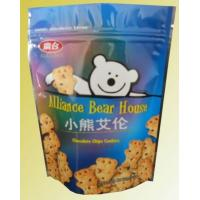 Green Material Food Grade Plastic Bags for Cookie Packaging Manufactures