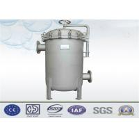 China Liquid Multi Bag Filter Housing Inlet / Outlet Customized For Water Filtration System on sale