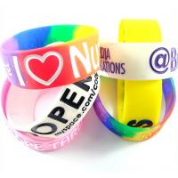 Colorful Wristbands Sports Silicone Bracelets Rubber Band Bracelet Manufactures