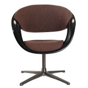 China Furniture Foshan China Black Color Fiberglass Shell Modern Restaurant Chair on sale