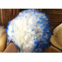Durable Long Wool Sheepskin Car Wash Gloves , Sheep Wash Mitt With Silky Texture Manufactures