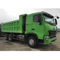SINOTRUK HOWO Dump Truck A7 Front Lifting Hydraulic System 30 - 40 Tons RHD 6X4 Manufactures