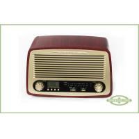 Classic Style Radio with Alarm Clock , LCD Display with Backlight , AM/ FM radio Manufactures