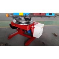 VFD Adjust Rotary Welding Positioners 600KG Loading Capacity , 1000mm Table With T-Slot Manufactures