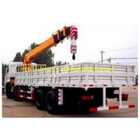 16.1 m Max Truck Mounted Crane 6x4 All Rotation with 12 tons XCMG crane Manufactures