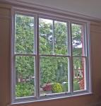 High Security Aluminium Double Glazed Sash Windows In Ventilation Control Manufactures