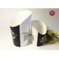 12oz Disposable Double PE Paper French Fries Cup By Flexo Print Manufactures