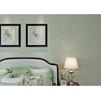 Eco Friendly Classical Grey Pattern Wallpaper For Restaurant , Embossed Surface Treatment Manufactures