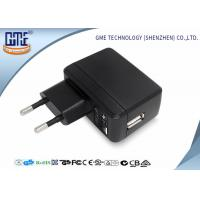 Phone Charging 2 Round PIN 5V 2A Single Usb Plug Adapter With Energy Class VI Manufactures