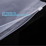 PP Flat Slider Zipper for PP Zipper Bag, Cloth package PE slider zip bag, Apparel Garment Clothing package PE slider zip Manufactures