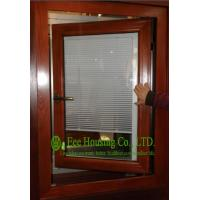 Aluminum Adjustable Louver Casement Window With Double Glazing,windows with blinds inside Manufactures