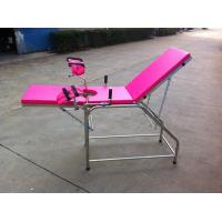 China Mechanical Medical Exam Tables , Gynecology Examination Couch on sale