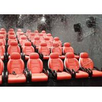 Impressive And Romantic Entertainment 5D Movie Theatre With Snow Effect In Greece Manufactures