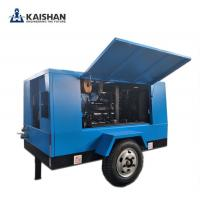 2017 Hot sales! Kaishan air compressor/Portable diesel screw air compressor/Energy efficient/ High quality air compresso Manufactures