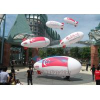 China Waterproof InflatableAdvertising Blimp Helium Zeppelin For Event Showing on sale