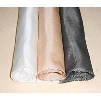 Anti Acid Glass Fiber Cloth Double / Single Side Web Filter Press Cloth Manufactures