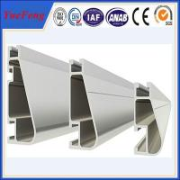 Top quality Aluminum solar mounting rail/ bracket/ solar racking Manufactures