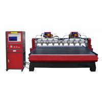 High Frequency Computer Wood Engraving Machine For Cabinet Doors , Craft Windows Manufactures