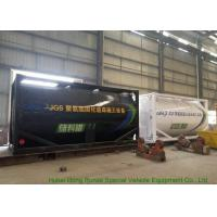 Heating Insulated 20FT Tank Container Stanless Steel For PolyetherPolyol / PMPO Manufactures
