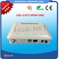 HZW-E801-T ONU EPON 1GE+CATV EPON ONU with high quality from HUANET Manufactures