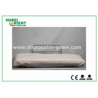 Hospital Disposable Bed Sheets Sanitary PP Bedcover / Disposable Waterproof Sheets With Elastic Manufactures