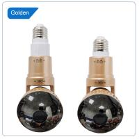 EAZZYDV Wireless  Bulb Wifi Camera Indoor Security Camera Spy camera with LED light and Remote Control
