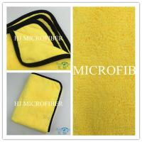 Super soft and high water absorption car cleaning cloth microfiber cleaning for sale